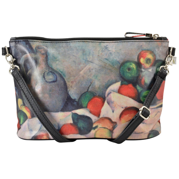 Alicia Klein small crossbody bag, Cezanne Still Life, back view