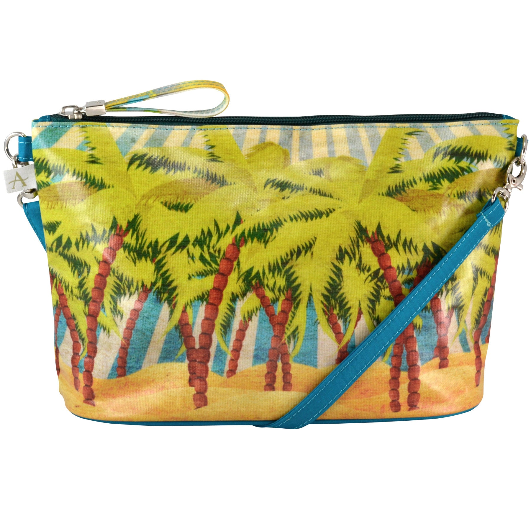 Alicia Klein small crossbody bag, Island Sun