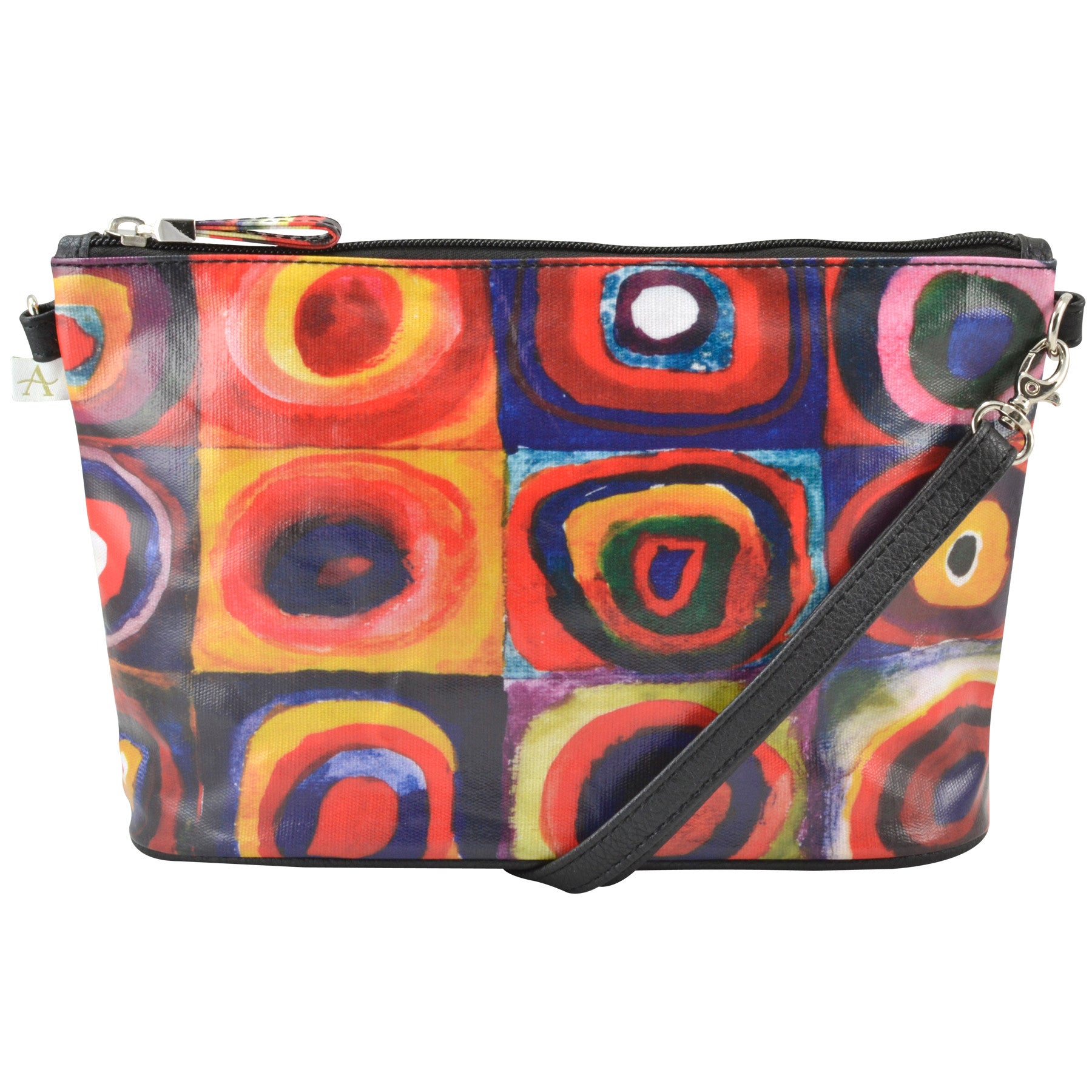 Alicia Klein small crossbody bag, Kandinsky