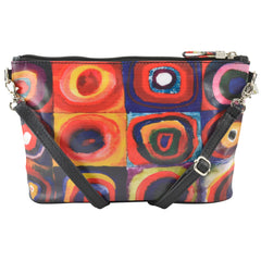 Alicia Klein small crossbody bag, Kandinsky, back view