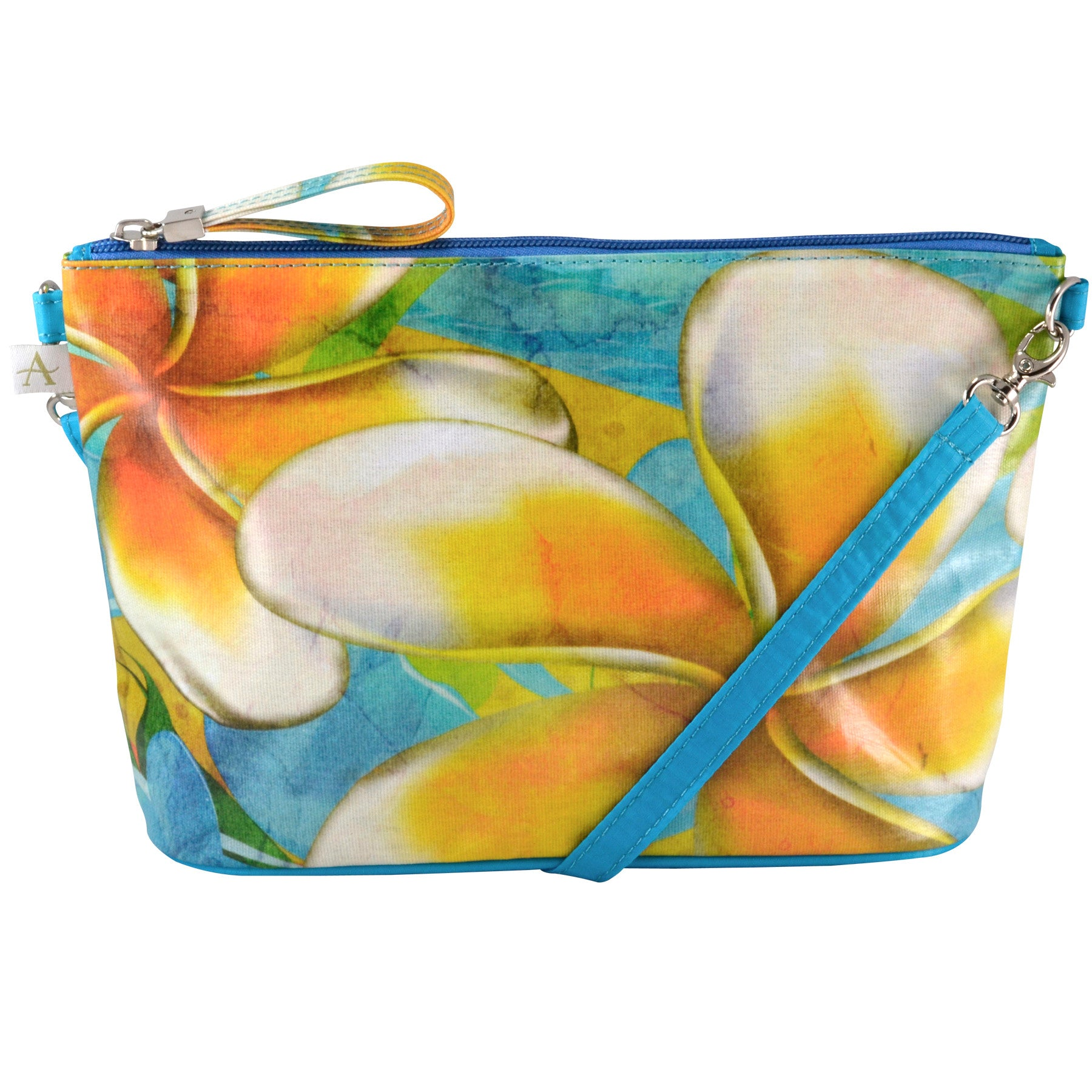 Alicia Klein small crossbody bag, Plumeria