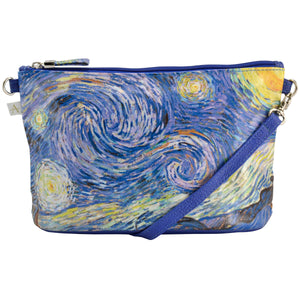 Alicia Klein small crossbody bag, Van Gogh's Starry Night