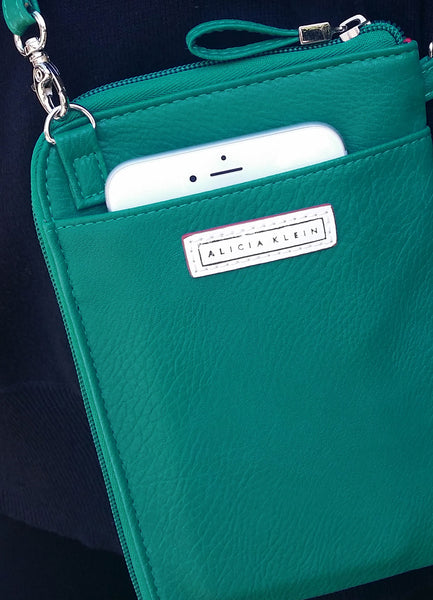 Vegan Crossbody Phone Wallet Bag - Southern Gal Gift - Grammar