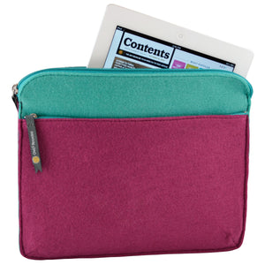 Felt iPad Case - Berry - 100% Recycled Water Bottles