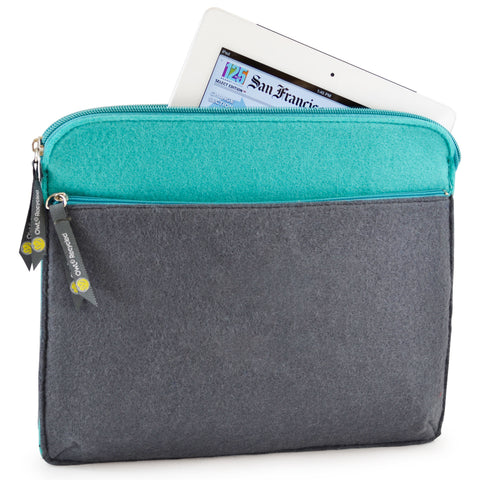 Felt iPad Case - Slate - 100% Recycled Water Bottles