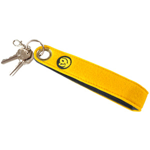 Felt Key Leash - Dandelion - 100% Recycled Water Bottles