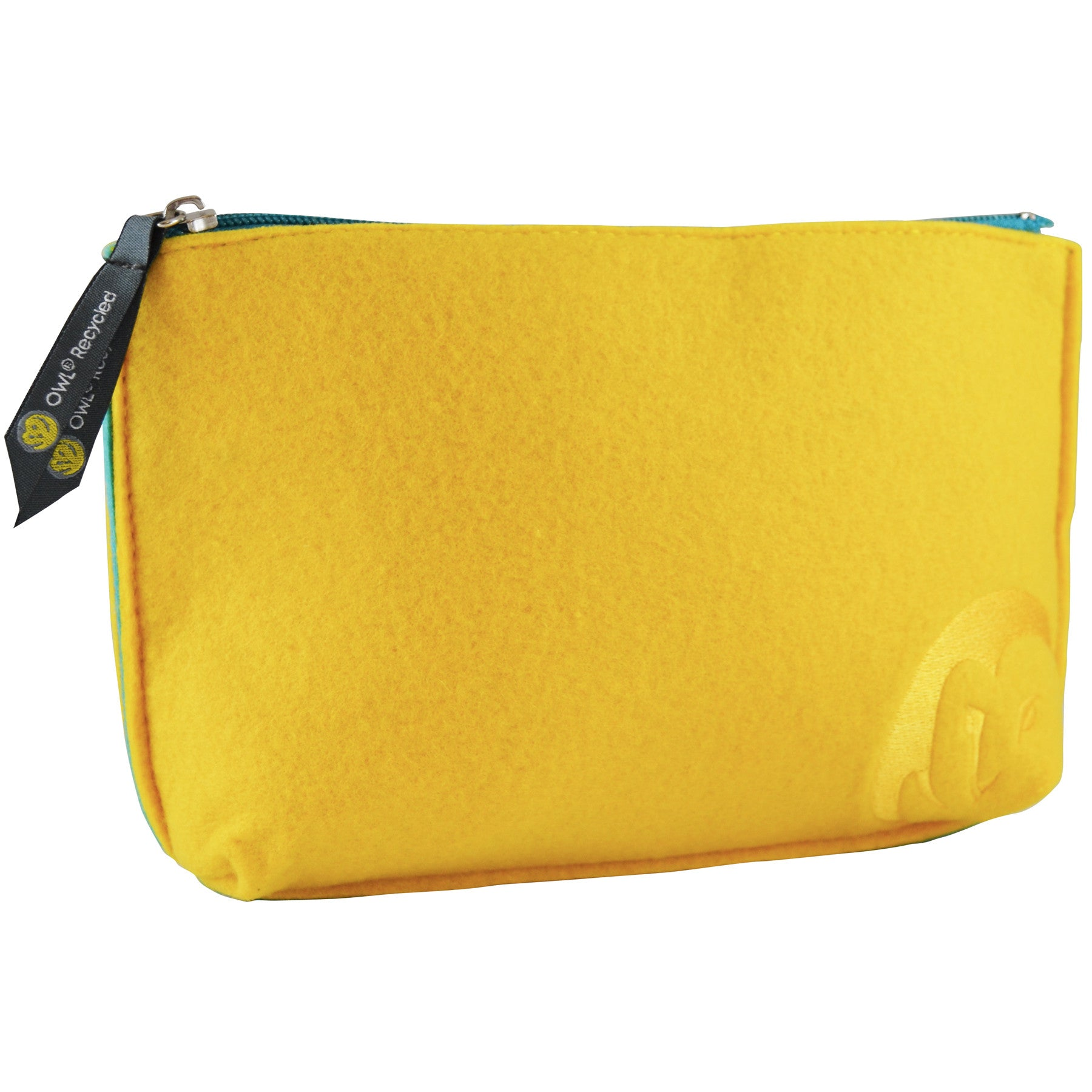 Felt Zip-Top Pouch - Dandelion - 100% Recycled Water Bottles