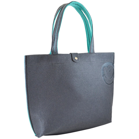Felt Tote Bag - Slate - 100% Recycled Water Bottles