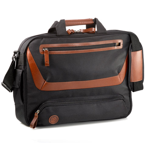 "17"" Laptop Briefcase - Cocoa"