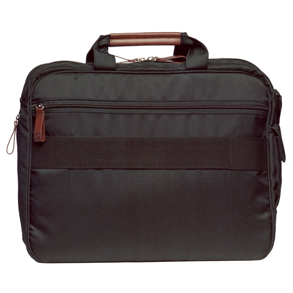 OWL eco laptop briefcase back