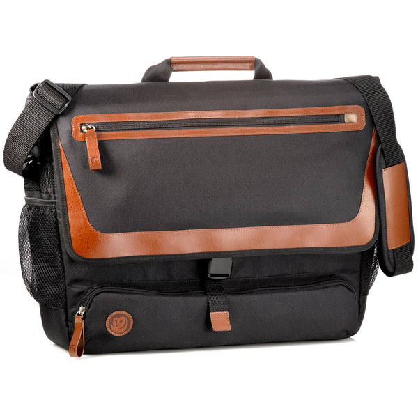 OWL eco laptop messenger bag