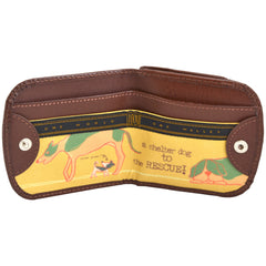 OWLrecycled Taxi Wallet - Shelter Dogs