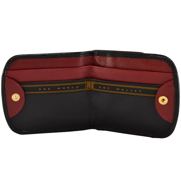Monterey Red and Black Taxi Wallet