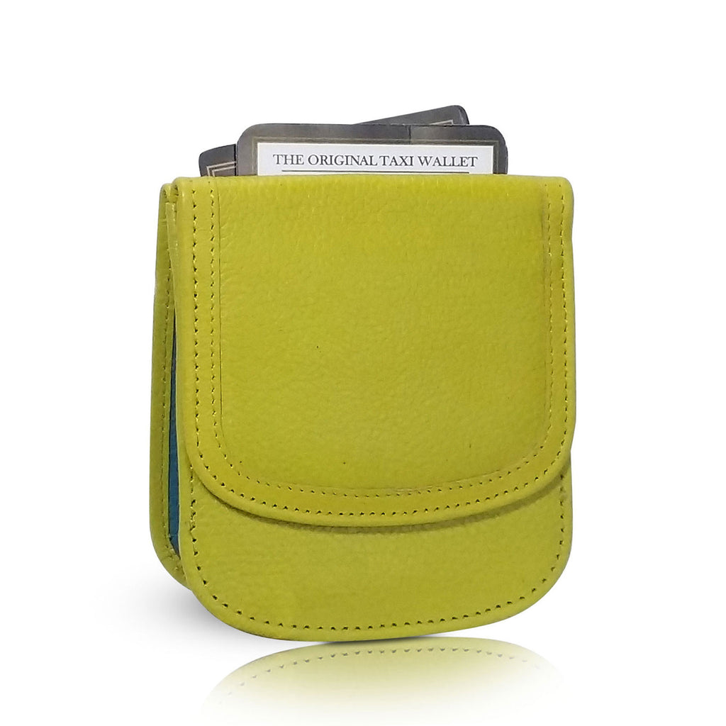 aca6ef1aab6a Taxi Wallet. Daiquiri Leather Folding Wallet- Coins, Cards and Bills ...