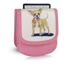 CHIHUAHUA - Vegan Non-Leather. RFID. Compact coin, bill, card wallet.