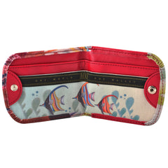 Vegan Taxi Wallet - Hawaiian gifts say Mahalo everyday! Gifts of the Sea