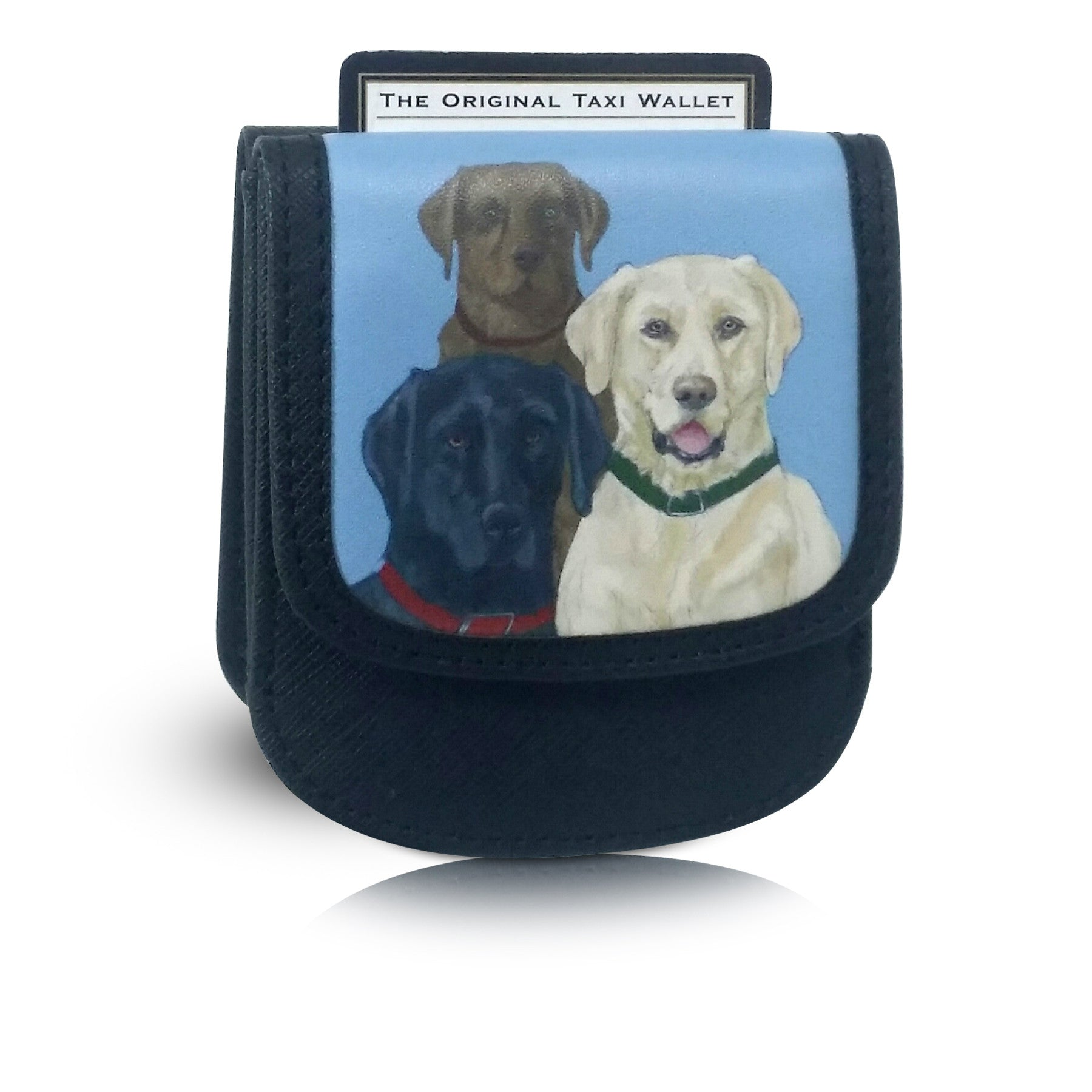 Labrador Taxi Wallet - Vegan Leather