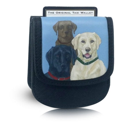 LABRADOR Small Folding RFID Minimalist Card Wallet by TAXI WALLET® for Men+Women Coin Purse