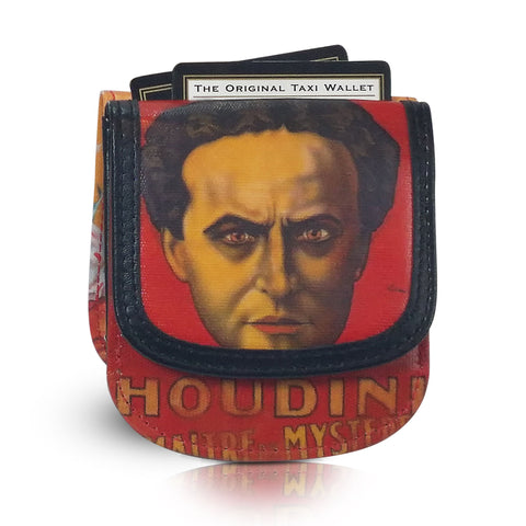 Leather Taxi Wallet - Houdini - Magic Circus