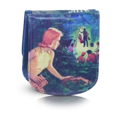 NANCY DREW - Vegan Non-Leather. Compact coin, bill, and card wallet. Taxi Wallet.