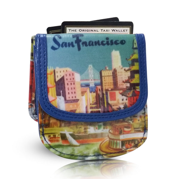 SAN FRANCISCO - Vegan, Non-Leather Taxi Wallet