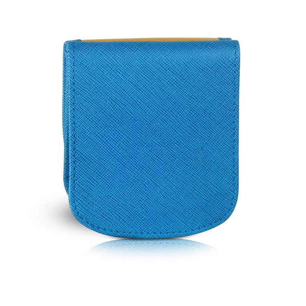 WESTIE Small Folding RFID Vegan Leather Minimalist Card Wallet by TAXI WALLET® for Women Coin Purse
