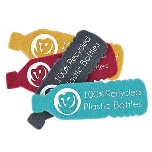 Felt Key Leash - Berry - 100% Recycled Water Bottles