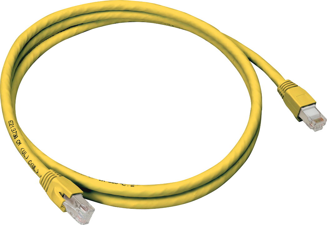 Cat6A Stp Patch Cable 25' Yel