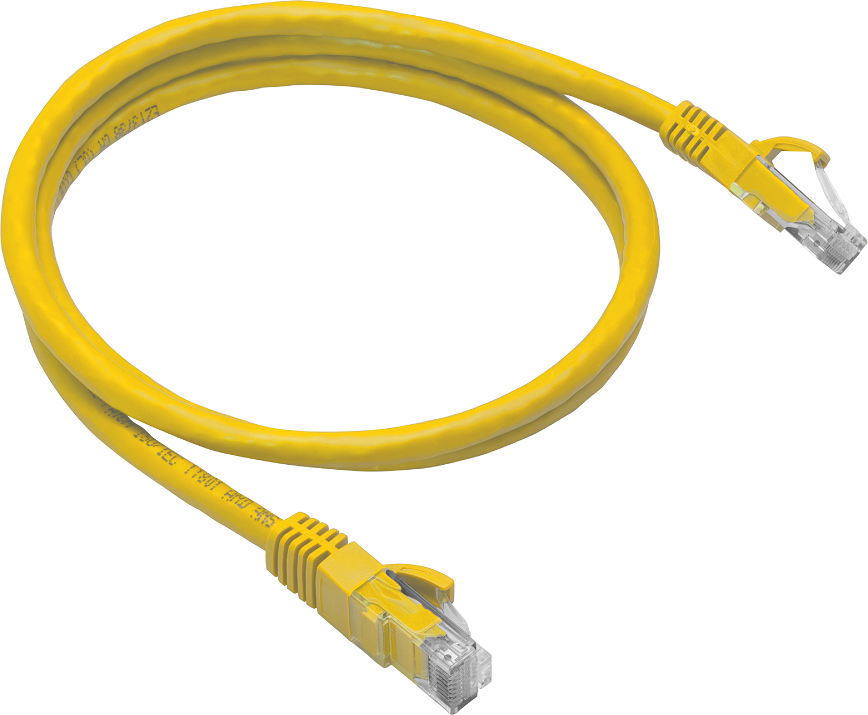 Cat6 Utp Patch Cable 25' Yel