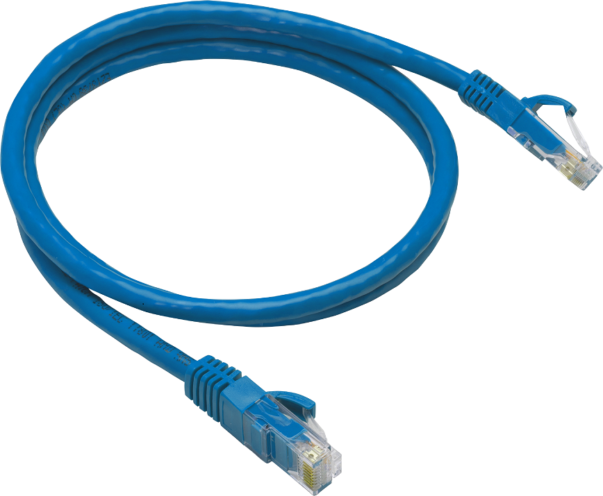 Cat6 Utp Patch Cable 25' Blu