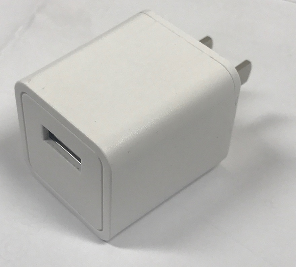 Usb Power Supply 5Vdc 2A White