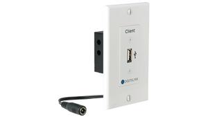 Usb 2.0 Ext Wallplate - Client