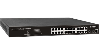 Switch Gb Ethernet 24P Full-L2