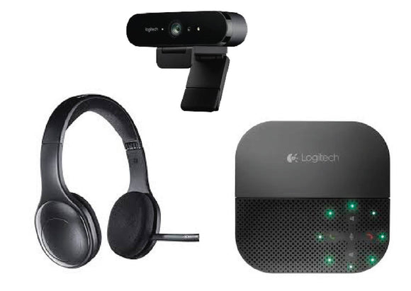 Work From Anywhere Logitech Bundle - Premium Sound & Video
