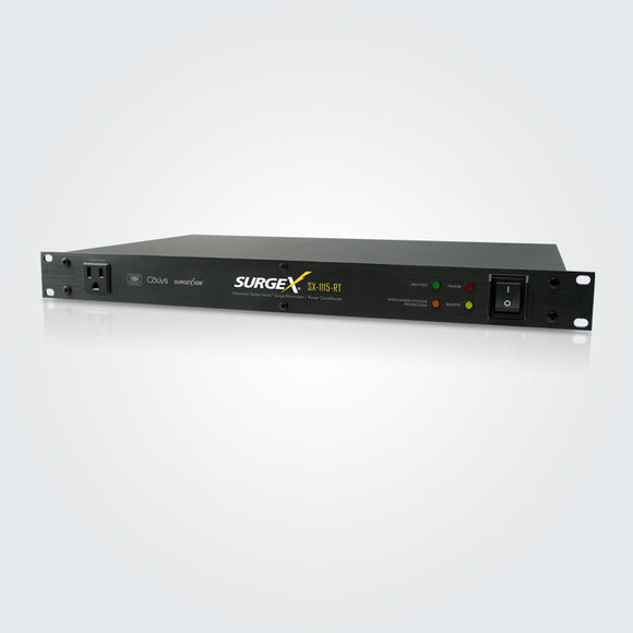 Rack Mount Surge Eliminator and Power Conditioner w/Remote, 1RU