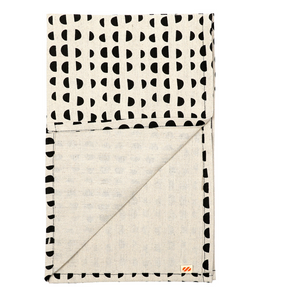 Tea Towels | Hand printed | Made in Melbourne. | semi circle
