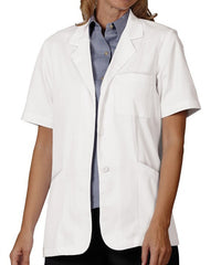 Fashion Seal Ladies Short Sleeve Lab Coat