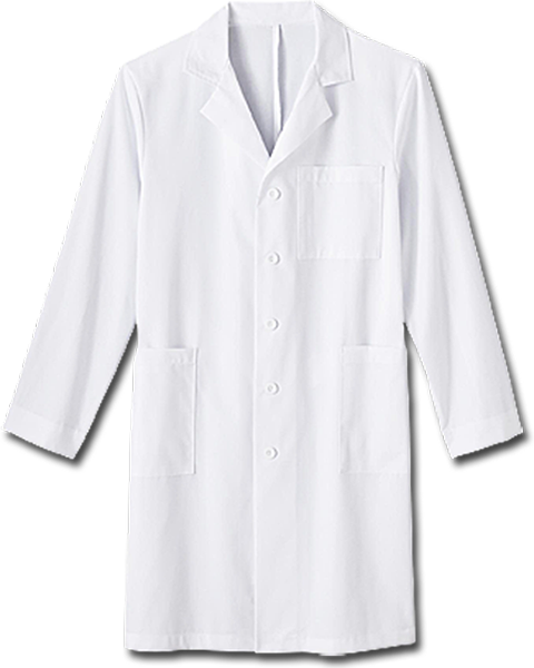 "Meta Men's 40"" Labcoat"