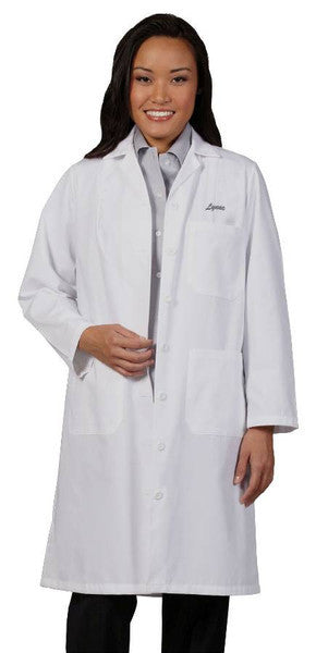 Fashion Seal Ladies Traditional Length Lab Coat