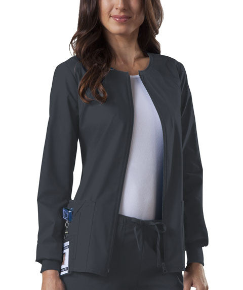 Cherokee Ladies Zip Front Warm Up Jacket