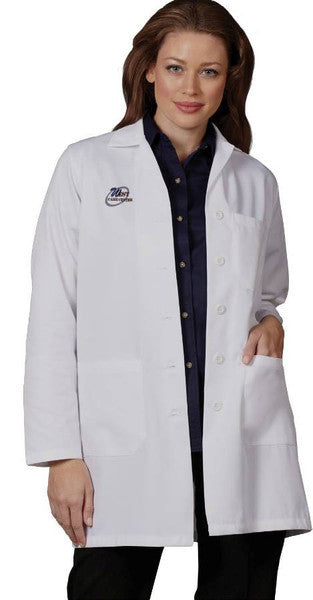 Fashion Seal Ladies Skimmer Length Lab Coat
