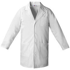 "Dickies Basic 37"" Unisex Lab Coat"