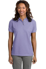 Port Authority Ladies Cotton Pique Knit Polo