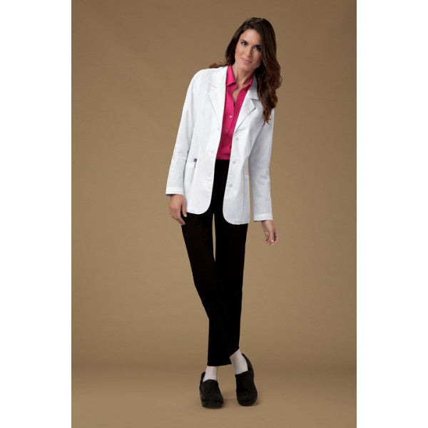 Cherokee Womens Shaped Lab Coat
