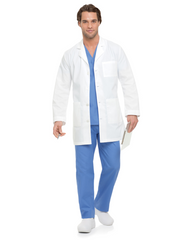 "Landau Men's 35 1/2"" Lab Coat"