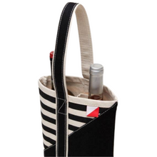 Load image into Gallery viewer, 2-Bottle Canvas Wine Tote