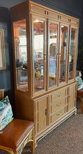 Load image into Gallery viewer, Stanley Lighted Bamboo China Hutch