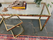 Load image into Gallery viewer, Brass Cocktail Table