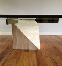 Load image into Gallery viewer, Mid-Century Modern Travertine Coffee Table by Artedi