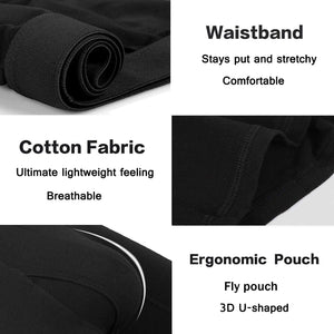 Men's Underwear Cotton Stretch Boxer Briefs 5 Packs for 29.99 Life Hack Inventions
